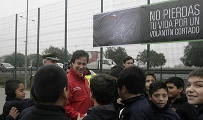 Ministro (s) Lucas Palacios participa en lanzamiento de Campaña «No pierdas tu Vida por un Volantín Cortado»