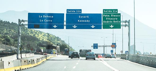 Habilitación Salida 11a Costanera Norte – Puente Presidente Riesco