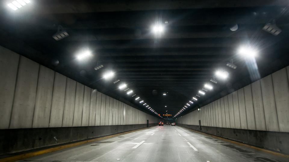 Nueva luminaria Led en túneles de tramo Centro