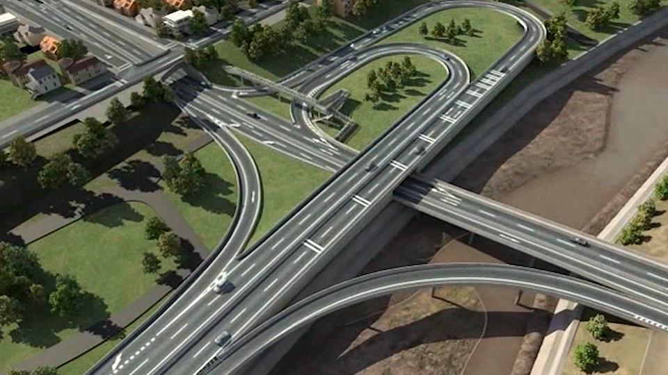 Se inician obras de Prolongación de Costanera Norte entre Puente La Dehesa y calle Padre Arteaga